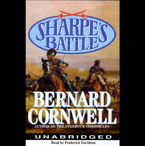 Sharpe's Battle audiobook cover art