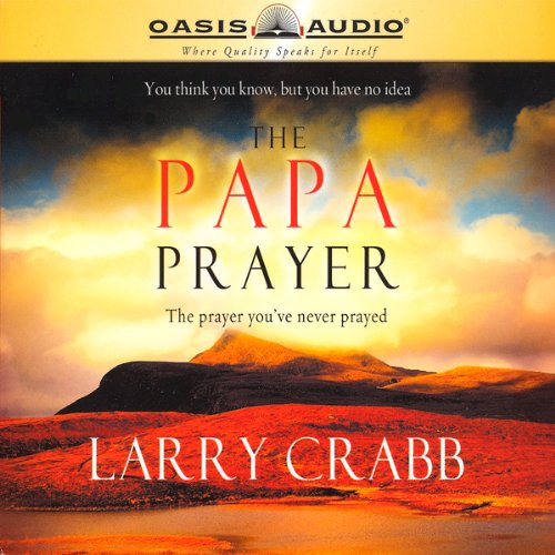 The Papa Prayer audiobook cover art