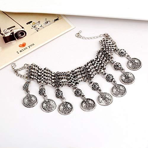 CTRCHUJIAN Fashion Vintage Charm Quaste Armbänder & Armreifen Gypsy Ethnic Multi Layer Armbänder Für Frauen