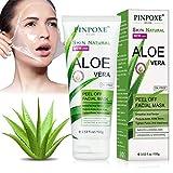Aloe Vera Masque,Masque Anti-points noirs, Masque Anti-acné anti, Masque peeling, Anti-comédons aloès huile de nettoyage des pores profonds huile de nettoyage contrôle hommes et femmes masque anti-âge