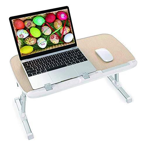 Opvouwbaar Laptop Computer Table, Verstelbare Computer Tray, Bureau en een kleine tafel op het bed voor het schrijven en eten op de bank
