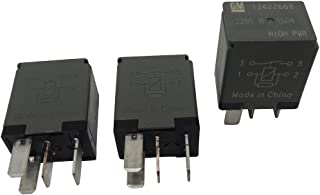 New OEM GM 4-Pin Relays (3 Pack) 13422668 High Power 4-Terminal Multi-Use Relays