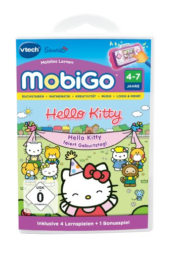 Vtech 80-252404 - MobiGo Lernspiel Hello Kitty