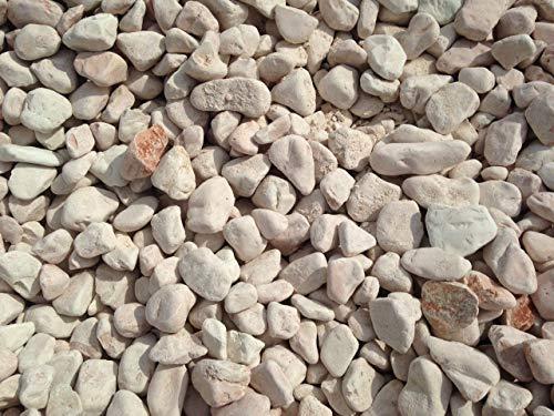 Metroquadrocasa 4 Sacchi da 25kg ciottoli di marmo Rosa Corallo 25/40 mm sassi pietre giardino