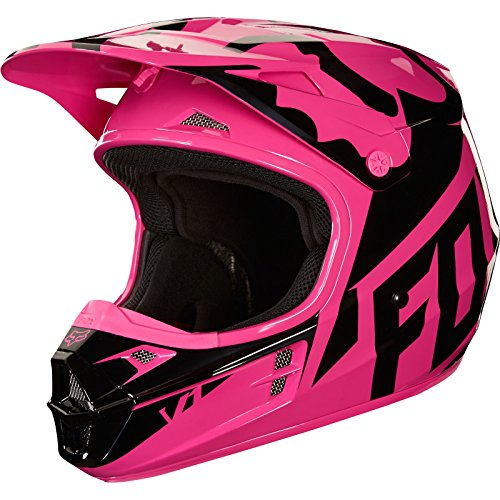 Fox Casco Junior V de 1Race, rosa, tamaño YL