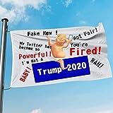 Trump Baby Blimp in Election 2020 Funny Flag 4 x 3 FT 1Pcs Fakes News Unfair Donald Trump Quotes Putin Political Cartoon (Trump Baby Quotes) Anti-Trump Biden Wins
