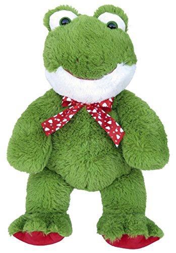 Wagner 9063 - XL Plüschfrosch - 60 cm groß - Riesen Kuschelfrosch Teddybär Plüschtier Plüsch Plüschbär Frosch