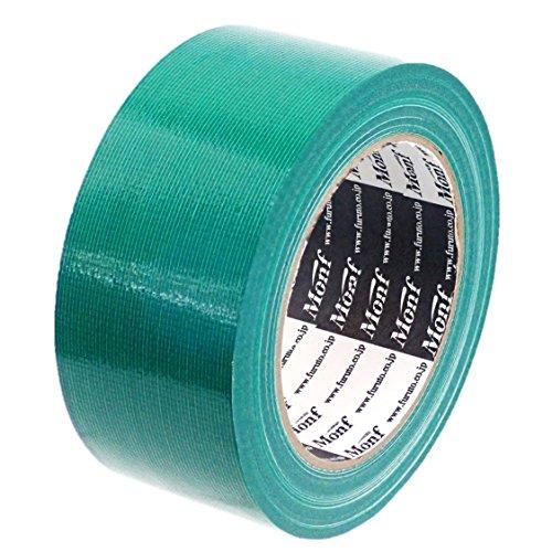 【Amazon.co.jp限定】 古藤工業(Furuto) ガムテープ 布 緑 50�o×25m 1巻 AE1101GR