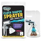 Diaper Dawgs Premium Dual Mode Cloth Diaper Sprayer – Includes...