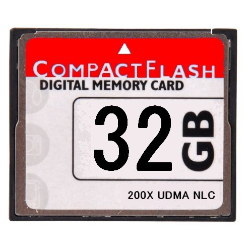 WELLSKY オリジナルブランド [ 東芝チップ内蔵 ] CompactFlash CFカード コンパクトフラッシュ 32GB 200X 200倍速 UDMA 対応 D2Xs D2Hs D3 D3S D700 D300S EOS 5D MarkII 7D