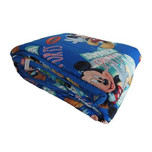 Disney Mickey Mouse Sports Winter-Steppdecke für Einzelbett, 170 x 260 cm