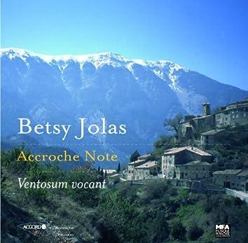 ベッツィー・ジョラス: 風の山と名づけられて