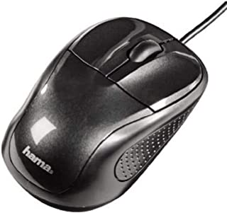 "HAMA Mouse ottico""AM100"" a 3 tasti con scroll, USB, 800 dpi, nero"