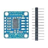 HiLetgo AT42QT1070 Standalone 5 Keys Capacitive Touch Sensor Breakout Module 5-Pad Conductive Pad Mutiple Capacitive Touch Sensor Breakout Board DIY Electronic Indicator