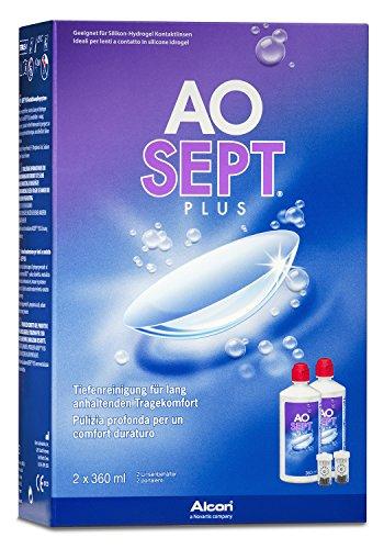 Aosept Plus Kontaktlinsen-Pflegemittel, Vorratspackung, 2 x 360 ml - 2