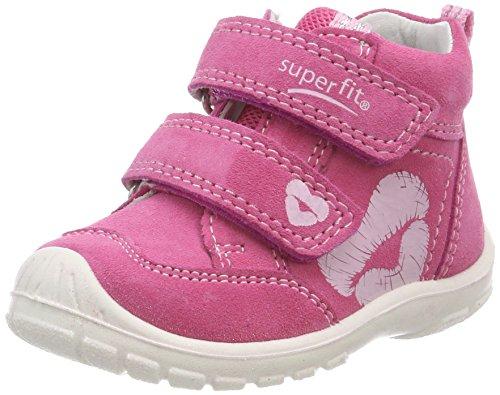 Superfit Baby Mädchen Softtippo Sneaker, Pink (Pink Kombi), 21 EU