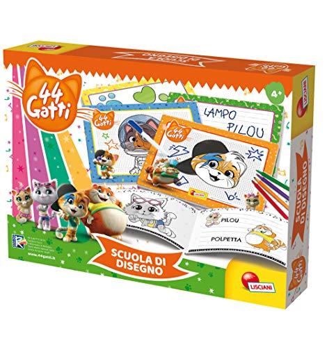 Lisciani Giochi 76048 44 Gatti - Escuela de Dibujo