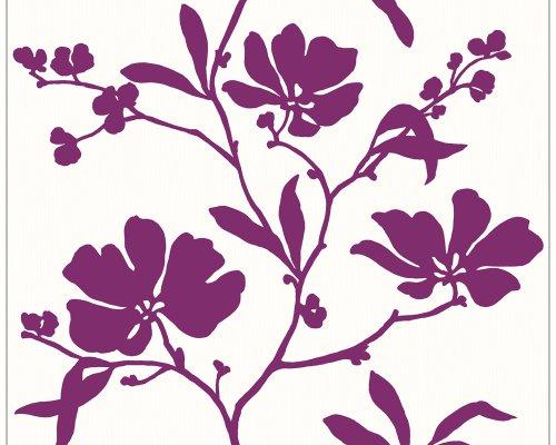 Schöner Wohnen 227829 Vliestapete Wonderful Colour, Mustertapete, floral