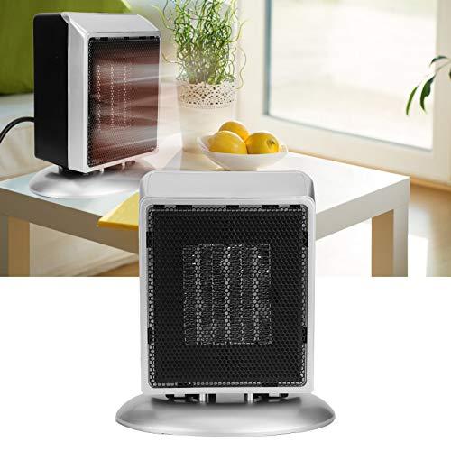 logozoee Calentador de Espacio   Ventilador eléctrico de Escritorio con calefacción rápida de 900 W Calentador de Aire portátil para el hogar para Uso en(Pink)