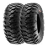 SunF A043 26x9-14 26x9x14 Sport-Performance XC ATV UTV pneumatici radiali fuoristrada 6PR TL 68N E marchi di prova, set di 2 pezzi