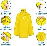 """Fahrrad-Poncho """"RAIN STOP"""" (30% reduziert, leichte optische Mängel) (signalgelb, XL) - 6"""