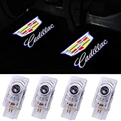 Please check compatible model and year, Not suitable for Cadillac CTS DTS All series and years Package included 4PCS logo door lights for cadillac Please confirm whether the car has the original door light before buying(Please make sure your doors ha...