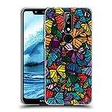 Head Case Designs Officiel Suzan Lind Monarque Papillons Coque en Gel Doux Compatible avec Nokia 5.1...