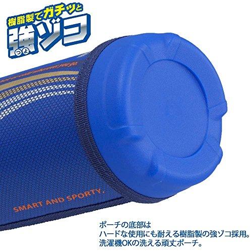 『タイガー 水筒 500ml 直飲み コップ 付 2WAY ステンレス ボトル ポーチ付き サハラ ブルー MBO-E050-A Tiger』の4枚目の画像