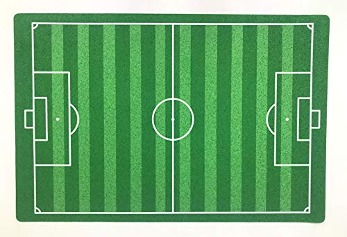 De'Carpet Alfombra Infantil Futbol con Dibujos Lavable Futbol Niña Niño 80x120
