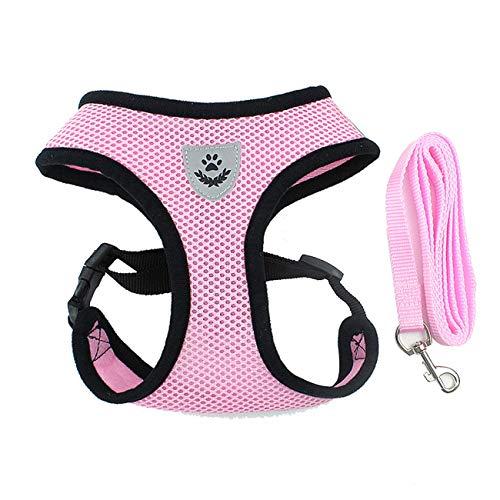 Ashley GAO Arnés ajustable para perros cachorros y mascotas, chaleco para correr en coche, pequeño, mediano, grande, acolchado, ajustable, para mascotas, cachorros, perros, chaleco suave