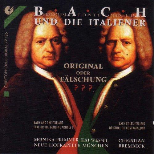 Bach, J.S.: Tilge, Hochster, Meine Sunden / Keyboard Concerto, Bwv 974 / Languet Anima Mea