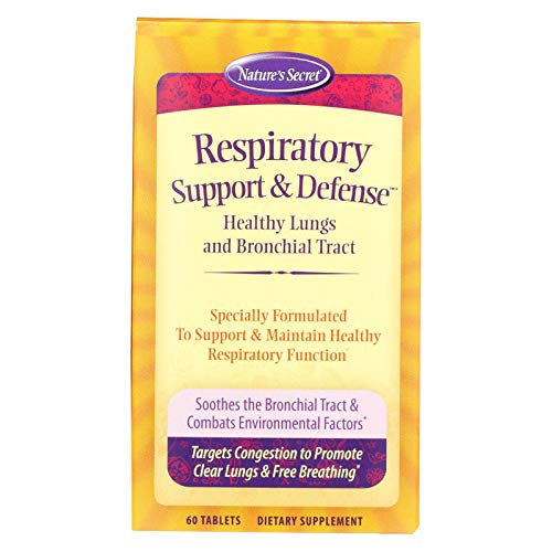 Natures Secret Respiratory Cleanse And Defense