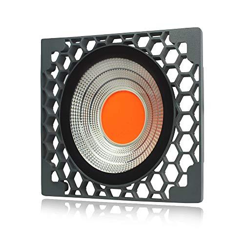 ZLM® - Lámpara LED de cultivo 50W Full Spectrum – Impermeable IP65 – Foco LED COB de crecimiento y floración para cultivo plantas interior y exterior bajo invernadero – Grow Light