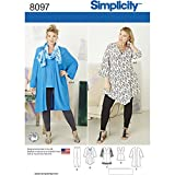 Simplicity 8097 Women's Plus Size...