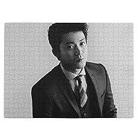 小栗旬 (3) 520ピースのジグソーパズル各種の漫画の風景人物のおもちゃジグソーパズル木質【パズルデコレーション】 (38.6x52.2cm)