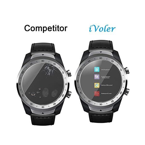 ivoler 4 Unidades Protector de Pantalla para Huawei Watch GT/Huawei Watch GT Active/Huami Amazfit Verge/Amazfit Verge… 7