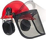 NoCry 6 in 1 Chainsaw Safety Helmet