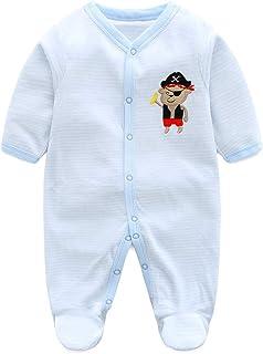 Vine Baby Overall Vlies Strampler Niedlich Spielanzug Pyjama Karikatur Onesies Body 6-9 Monate