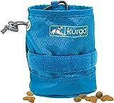 Kurgo K01970 RSG YORM Futterbeutel Hunde, Zubehör für Hundegeschirr, MOLLE-kompatibel, Küstenblau, 59 g