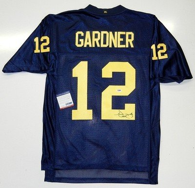 Gardner Signed Michigan Wolverines Authenticated : image