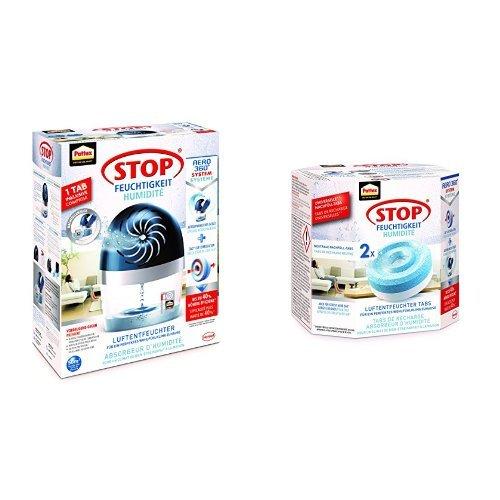 Pattex Stop Feuchtigkeit: Luftentfeuchter + Nachfüller 2er Pack (PLAN2)