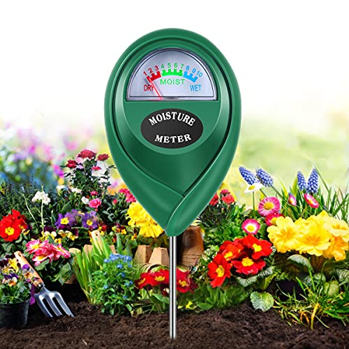 Moisture Meter, Gardening Tool Kit for Plants Care, No Battery Required Suitable for Indoor & Outdoor, Potted Plants, Gardens, Lawn, Farms, Garden Tools, Soil Moisture Meter