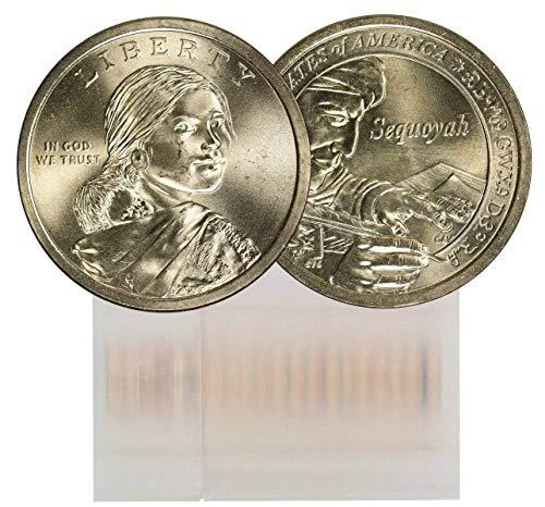 2017 P Sacagawea 25-Coin Dollar Roll BU