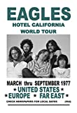 Kopoo Don Henly Glenn Frey Poster The Eagles Band Hotel