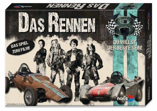 Noris 606011241 - V8 Du willst der Beste sein, das Spiel zum Film, Kinderspiel