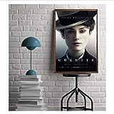 QWGYKR Colette Movie Poster Keira Knightley 2018 Wandkunst