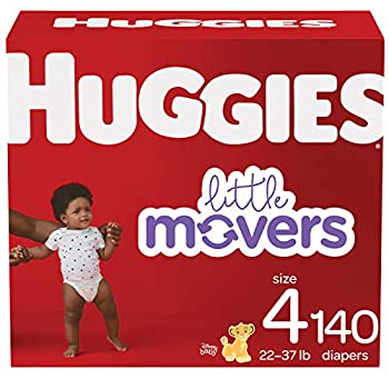 Baby Diapers Size 4 140 Ct Huggies Little Movers