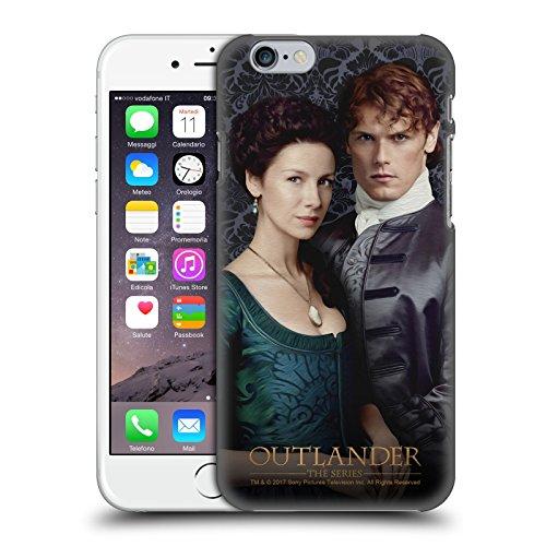 Head Case Designs Licenza Ufficiale Outlander Claire E Jamie Primi Piani Cover Dura per Parte Posteriore Compatibile con Apple iPhone 6 / iPhone 6s