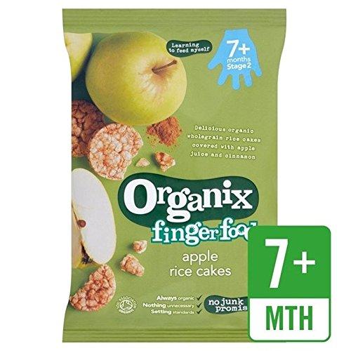 Organix Gâteaux De Riz 50G De Pomme