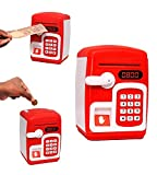 Toyshine Property Security Awareness - An interesting fingerprint piggy bank. Passwords, fingerprints, and currency multi-functions foster children's curiosity. Develop good financial habits, collect pocket money, accumulate, and get what you want on...